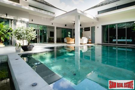 Private and Natural Four Bedroom Pool Villa in Layan, Phuket