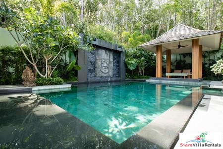Private and Peaceful Four Bedroom Pool Villa for Rent in Layan, Phuket