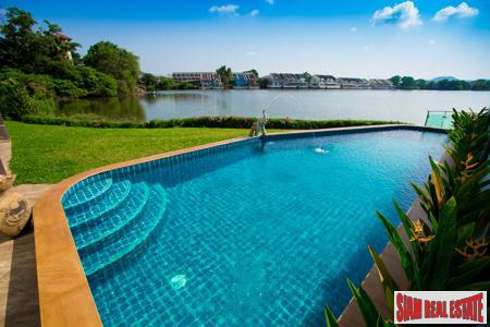 Bright and Spacious Lakefront Villa with Pool in Chalong, Phuket