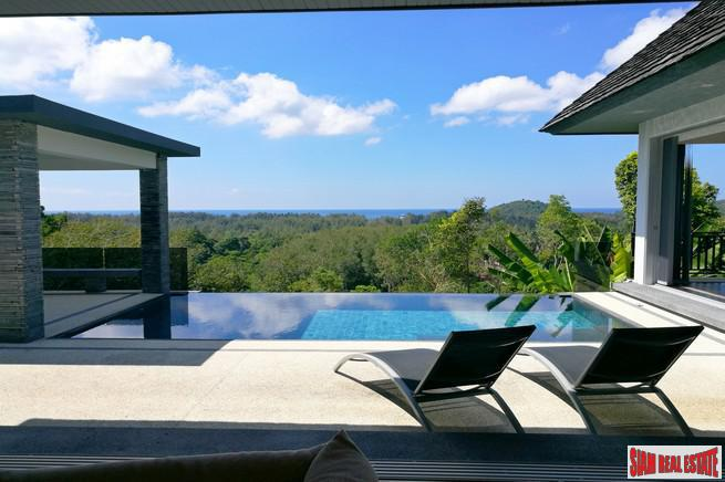 Panoramic Sea Views from this Magnificent New Home in Layan, Phuket