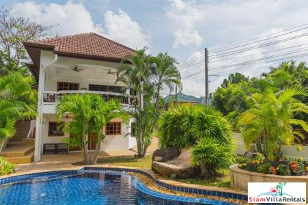 Three Bedroom Pool Villa Plus Separate Bungalow for Rent in Nai Harn, Phuket