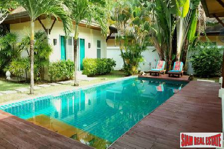 Bali-Style Pool Villa Attractively Priced in Rawai, Phuket