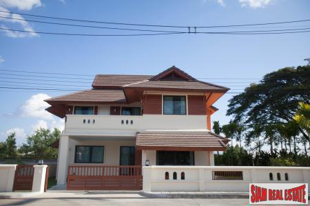 New Modern Lanna Single Detached House for Sale in Chang Lian, Chiang Mai