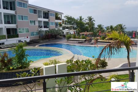 One Bedroom Seaview Condo  for Rent In Stylish Resort, Karon, Phuket