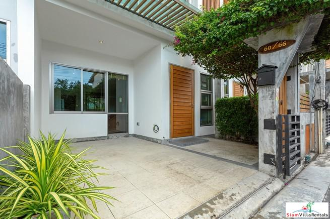 Two Bed Modern Townhouse For Rent with pool, minutes from Central Festival and Phuket Town