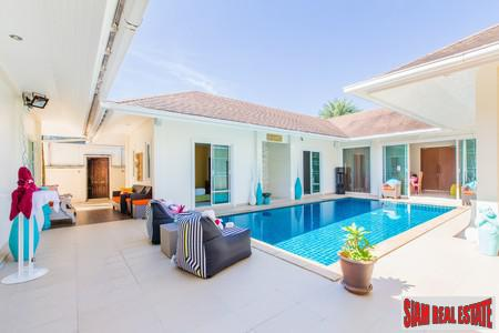 Unique and Bright Four Bedroom Bali-Style Pool Villa in Chalong, Phuket