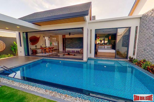 Last Villa For Sale; Brand New Gated Pool Villa Development on the West Coast of Nai Yang, Phuket