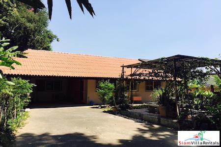 Thai Style House with Large Yard in Suthep, Chiang Mai
