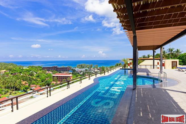 Two Bed Condo with Sea Views in Karon: come with a 6.5% rental guarantee