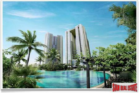 Sathorn Garden | Three Bed River Facing Condo on the 36th Floor at Sathorn, Bangkok
