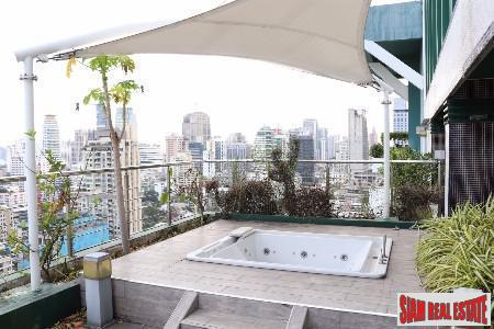 3 bed Duplex Penthouse Condo at Sukhumvit 23, Bangkok