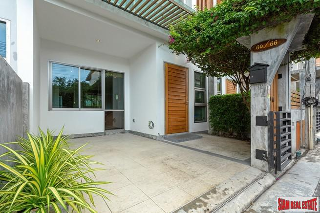 Two Bed Modern Townhouse For Sale with pool, minutes from Central Festival and Phuket Town
