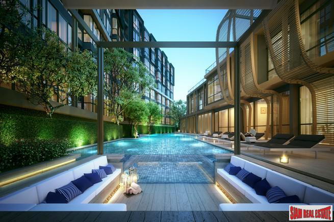 New Condo Nearing Completion off Sukhumvit 71, Phra Khanong