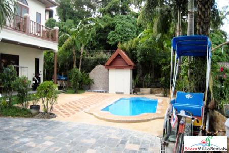 Traditional Thai Style Home with Sea View in the  Tri Trag Headlands Area of Patong