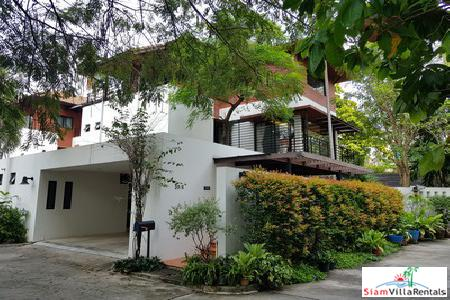 Luxurious and Spacious Three Storey House with Private Pool in Thong Lo, Bangkok