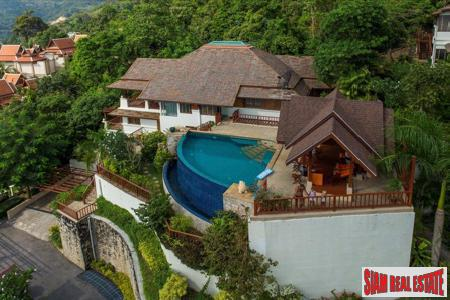 Spectacular Patong Bay Views from this Hillside Pool Villa, Phuket