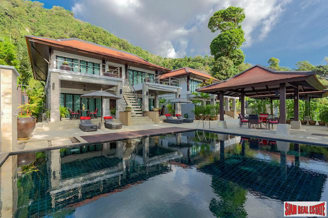 Amazing Sea Views and Sunset from this Luxury Pool Villa in Kalim, Phuket