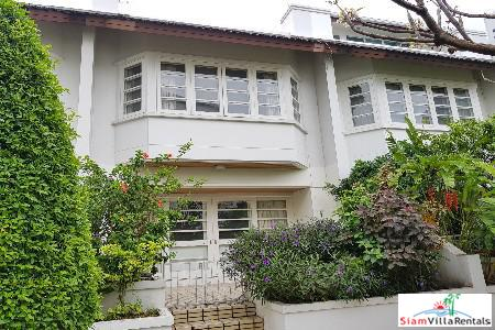 Large Four Storey House for Rent in Khlong Toei, Bangkok