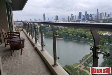 Elegant Two + One Bedroom with City, Lake and Park Views next to Benchakiti Park, Sukhumvit 16