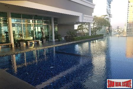 Convenient Location and City Views from this One Bedroom For Rent in Sathorn, Bangkok