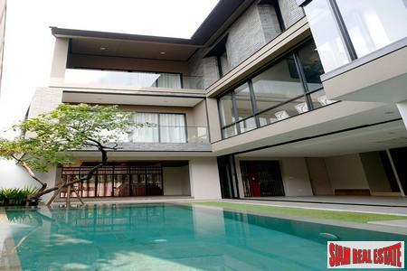 New House with Private Pool and Gardens in Phra Khanong,  Bangkok