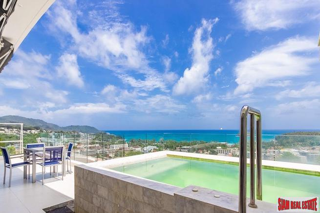 Sea View Penthouse with Private Pool in Kata, Phuket