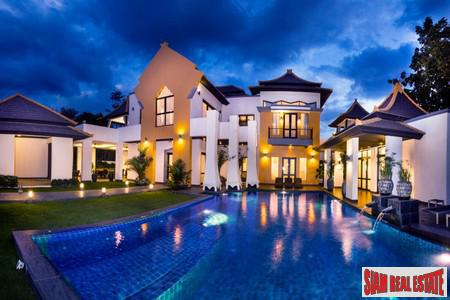 Luxury Tropical Pool Villa- 6 bedrooms with Private Pool