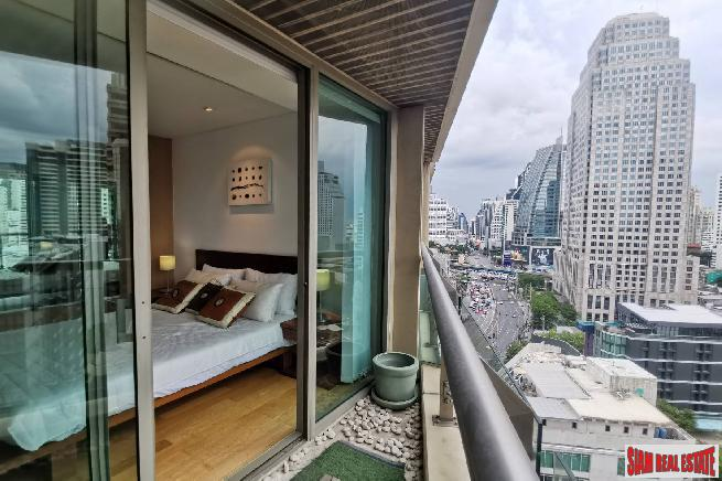 The Lakes - Luxury One Bedroom Condo For Rent Overlooking Benjakiti Park, Sukhumvit 16