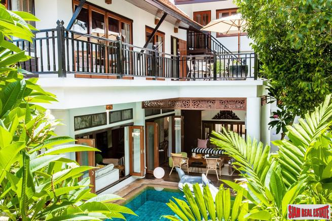 Dharawadi | Magnificent 5 Bedroom Villa With Direct Beach Access For Long Term Rent - Na Jomtien