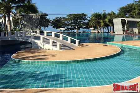 Affordable Beachfront on the Quiet South End of Jomtiend Beach Opposite of Jomtien Beach Road.