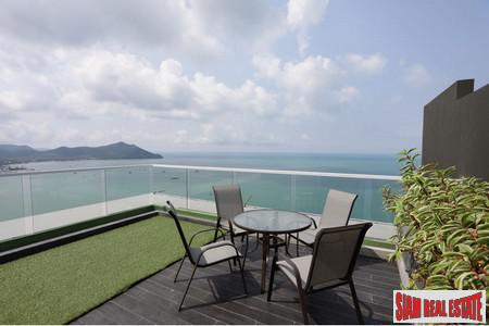 Penthouse in Bangsaray Beachfront Condominium with Direct Seaview- Pattaya