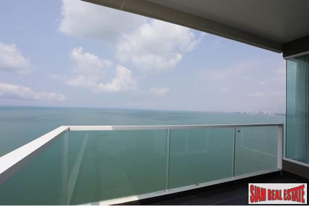 2 BRs Beachfront Condominium with Direct Seaview- Bangsaray Pattaya
