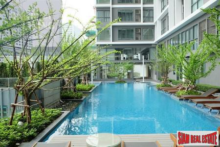 Furnished Studio Apartment in Good Location, Huai Khwang