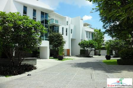 Luxury Four Bedroom House in New Modern Estate, Sathorn