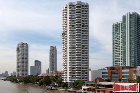Riverside Condo with Fantastic City Views at Chao Phraya Waterfront, Bangkok