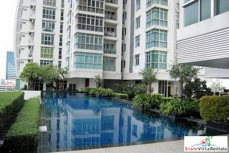 Nusasiri Grand Condominium | Luxury Furnished Two Bedroom for Rent next to BTS Ekamai