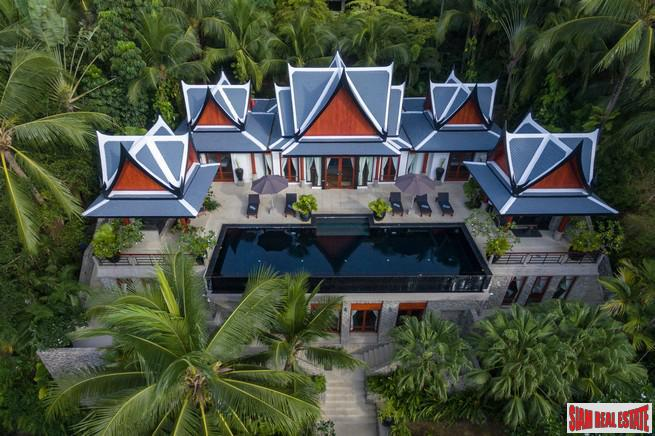 Magnificent Thai Style Villa with Sea Views Overlooking Surin and Bang Tao Beaches