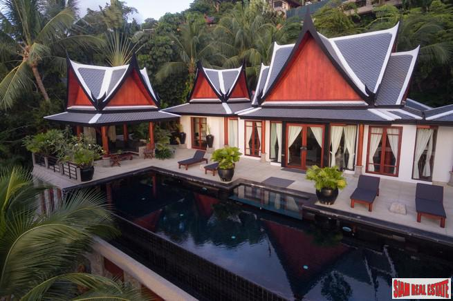 Magnificent Thai Style Villa with 4