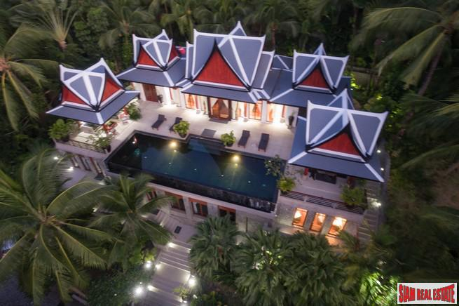 Magnificent Thai Style Villa with 5