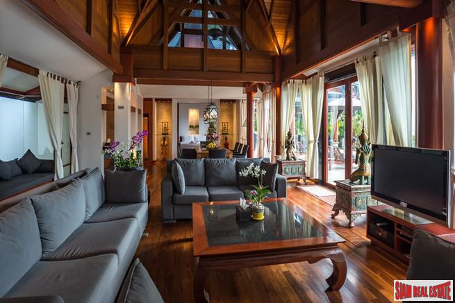 Magnificent Thai Style Villa with 7