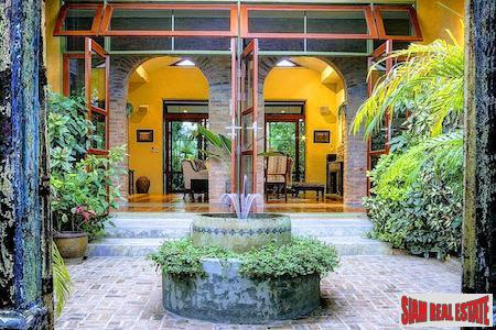 Spanish Style House with Saltwater Pool and Gardens in Hang Dong, Chiang Mai