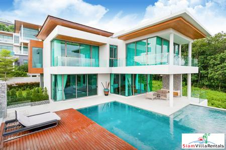 Panoramic Sea Views from this Five Bedroom in Rawai, Phuket