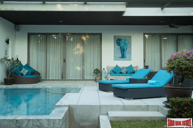 Contemporary Two Bedroom with Private Pool in Bang Tao, Phuket