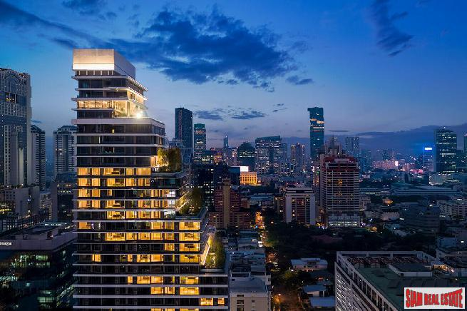 Luxury One Bedroom in New Private Residence Development, Sala Daeng, Bangkok