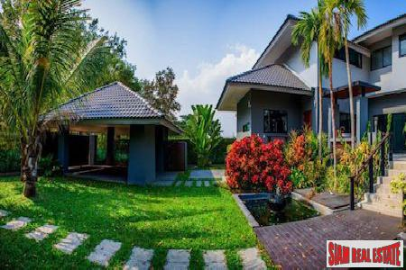 Two Story Pool Villa with Lush Gardens in San Phak Wan, Chiang Mai