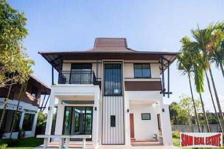 New Three Bedroom Lanna Style House in Nong Khwai, Chiang Mai