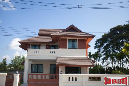 Elegant Four Bedroom Modern Lanna Style House in Nong Khwai, Chiang Mai