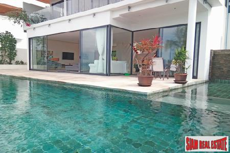 Spectacular Sea View Villa in a Gated Estate, Bang Po, Koh Samui
