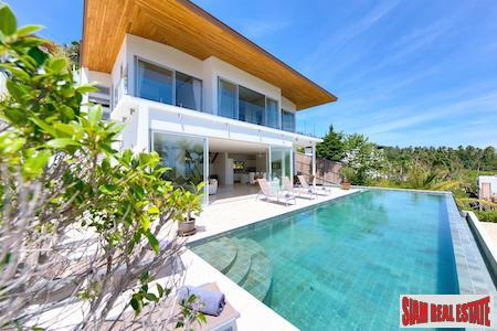 Magnificent Sea View Villa in Tropical Bang Po, Koh Samui