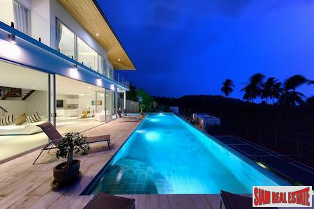 Spectacular Sea View Pool Villa in a  Gated Estate, Bang Po, Koh Samui